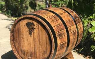 Вино в дубовой бочке в домашних условиях: как правильно подготовить и хранить