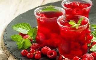 Компот из красной смородины – 5 простых рецептов на зиму без стерилизации
