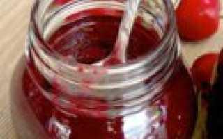 Повидло из вишни на зиму: рецепт, как сделать в домашних условиях с фото