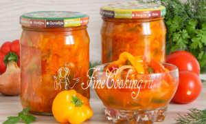 Рецепт цицибели на зиму с морковкой, луком, чесноком и болгарским перцем с фото и видео