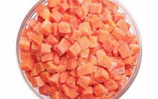 Как заморозить морковь на зиму в морозилке в домашних условиях