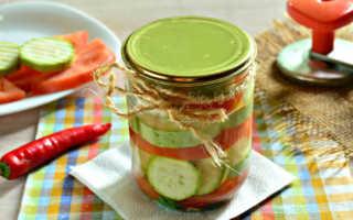 Кабачки с помидорами на зиму: ТОП 5 лучших рецептов консервирования с фото