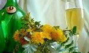 Вино из одуванчиков: рецепт приготовления в домашних условиях, правила хранения