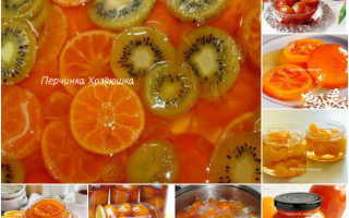 Мандариновый джем: 6 пошаговых рецептов приготовления, условия хранения